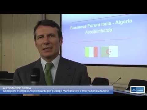 Business Forum Italia-Algeria
