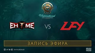EHOME vs LFY, The International 2017 Qualifiers [Crystalmay]