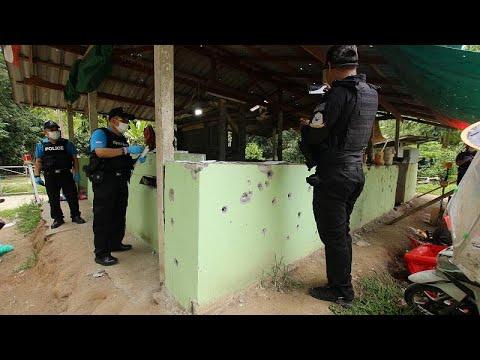Αιματηρή επίθεση ενόπλων σε σημείο ελέγχου στη νότια Ταϊλάνδη  …