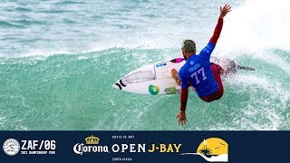Check out the the best rides from Filipe Toledo, taking him to the final day at Jeffreys Bay. Subscribe to the WSL for more action:...