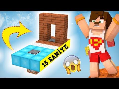 BU PARKURU 15 SANİYEDE BİTİRMEK İMKANSIZ (Minecraft)