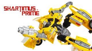 Transformers Bumblebee Studio Series 2007 Movie Hasbro 1977 Camaro Action Figure Toy Review