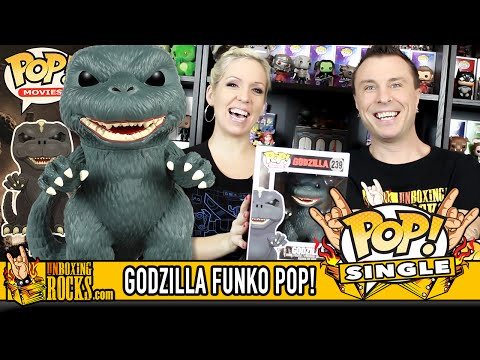 GODZILLA Funko Pop Vinyl (6 Inch) – Unboxing Review
