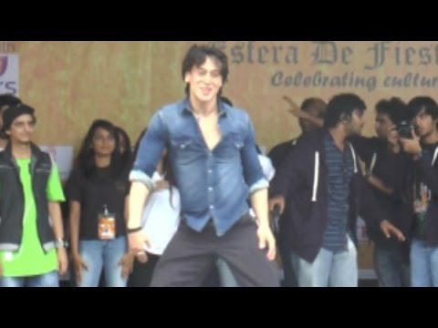 Tiger Shroff Loses Balance While Showing Off His S