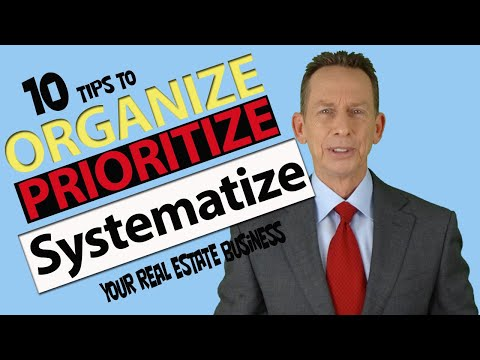 Realtor Organization Training: How to Get ORGANIZED!