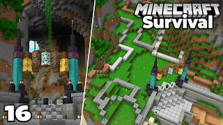 Let's Play Minecraft Survival : Planning my NEW Steampunk City!