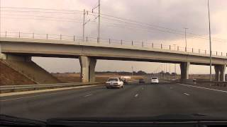 Pretoria South Africa  city images : Driving in South Africa - Downtown Pretoria to Oliver R Tambo Airport