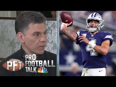 Video: Dallas Cowboys' front four can disrupt Los Angeles Rams' offense   Pro Football Talk   NBC Sports