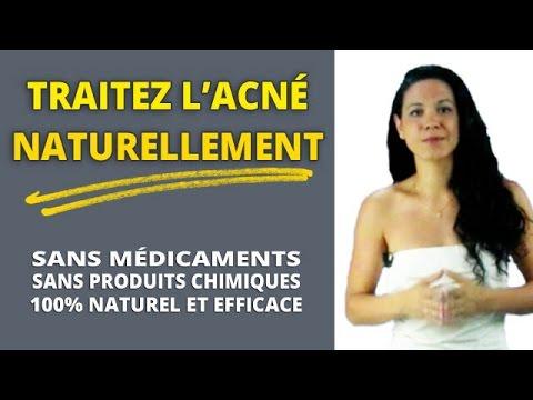 comment traiter acne naturellement