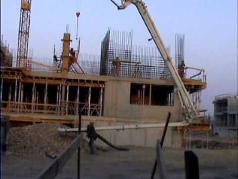 Betonáž čerpadlem (1)
