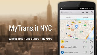 NYC Subway Real Time YouTube video