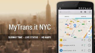 MyTransit NYC: Subway,Bus,Rail YouTube video
