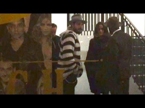 Zoe Saldana And Hubby Marco Perego Enjoy A Romantic Dinner At Catch