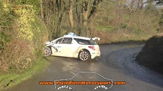 Highlights from round 1 of the Triton Showers National Rally Championship. Difficult day on the cameras with wind & rain so excuse the shaky camerawork at times. Great Action from the Irish stages.