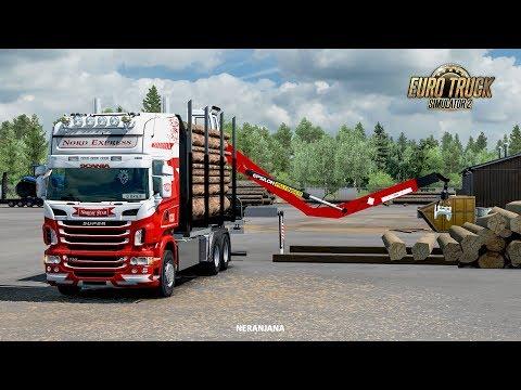 Scania R RJL Rigid Forest Parts 1.38
