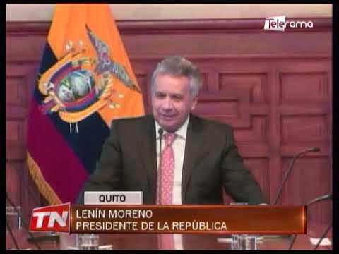 Los vocales del CPCCS-T se reunieron en Carondelet con el presidente Moreno