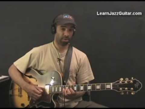 Learn Jazz Guitar – Jazz Guitar Lick – Key of F