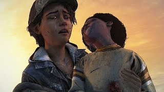 This is so sad even doe it ain't real - The Walking Dead The Final Season Model Swap Fanmade Ending
