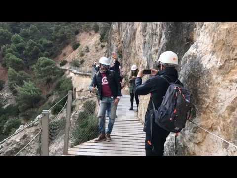 Mannequin Challenge Caminito del Rey