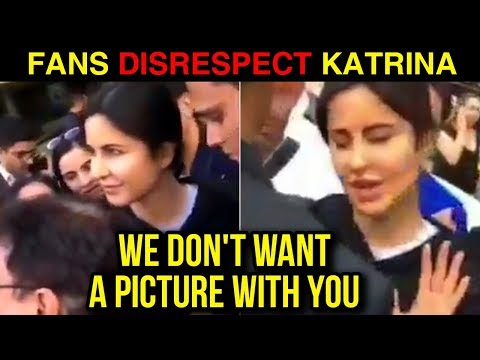 Katrina Kaif UGLY FIGHT With Fans On The Streets O