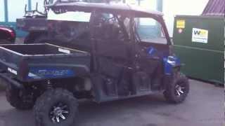 10. 2013 Polaris Ranger Crew DOT accessories, STREET LEGAL