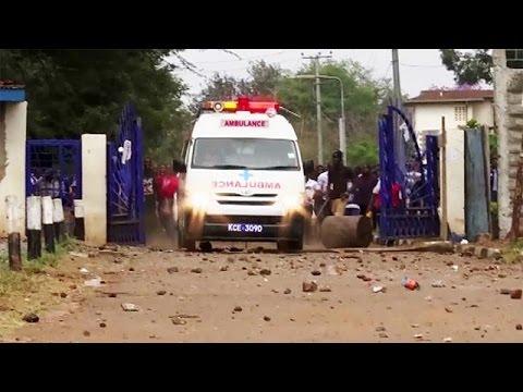 Κένυα: Πυρ εναντίον φοιτητών από την αστυνομία
