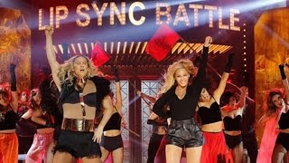 Pulls Off Epic Beyonce Surprise During 'Lip Sync Battle' Performance - YouTube