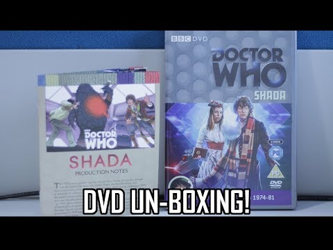 Doctor Who - Shada DVD Un-boxing!