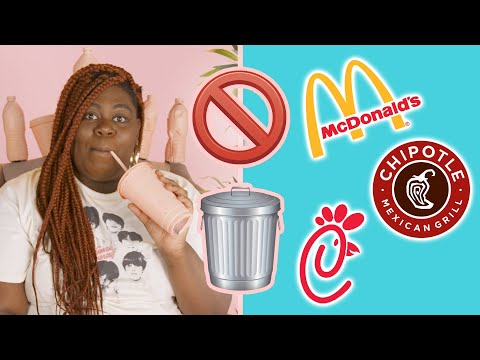 I Tried To Get Fast Food With Zero Waste