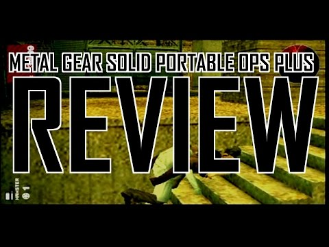 metal gear solid portable ops plus psp cso