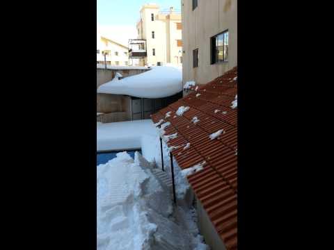 Elios Plaza Motel - Faraya - Lebanon winter time 2