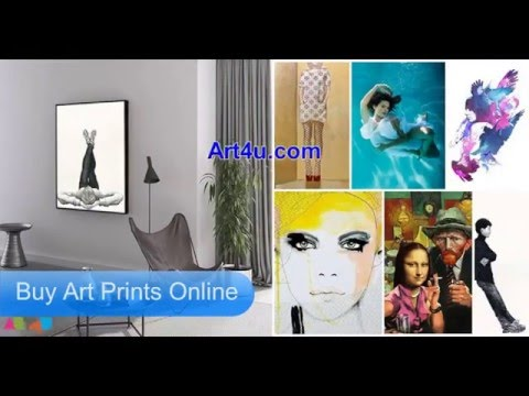 Beautiful Art Prints Online For Home Decor - Art4U (видео)