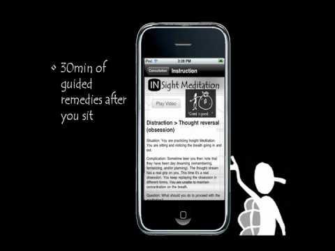 Video of Guided Insight Meditation
