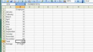 Excel Tutorial 3 of 25 - MIN and MAX Formula