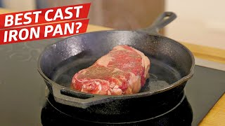 Is this $200 Cast Iron Pan Better than the Lodge? — The Kitchen Gadget Test Show by Eater