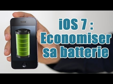 comment economiser batterie iphone 4s