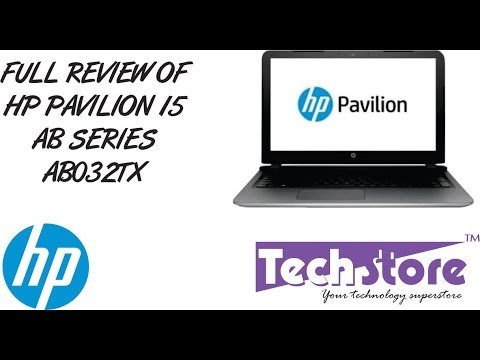 HP pavilion AB series laptop 032TX  full video review hands on webcam speaker antiglare full hd