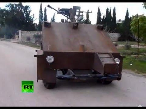 Самодельный БТР сирийских повстанцев