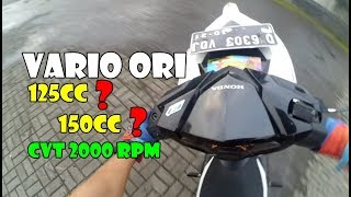 Video Vario 125cc Berasa 150cc Orian Ganti Per CVT 2000 Rpm MP3, 3GP, MP4, WEBM, AVI, FLV September 2018