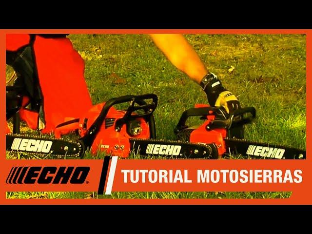 Motosierras ECHO – ¿Cómo seleccionar el modelo?