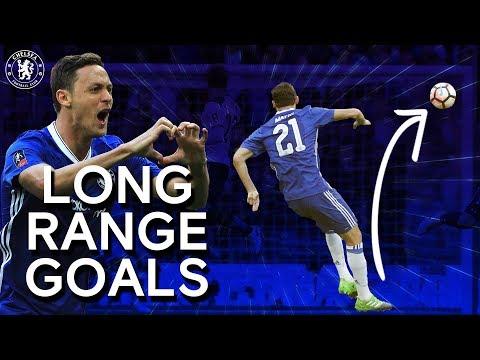 Chelsea's Most Memorable Long Range Goals | Frank Lampard, Drogba, Eden Hazard & More