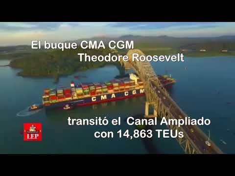Canal recibió hoy al mayor buque que lo haya cruzado