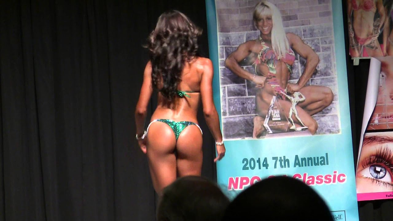 Bikini Open Class C at 2014 NPC CJ Fitness Figure & Bikini Championship
