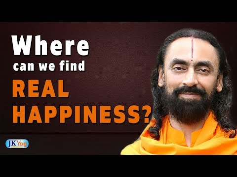Happiness quotes - Learn This One Secret to Find Real Happiness  Where is Real Happiness?  Swami Mukundananda  JKYog