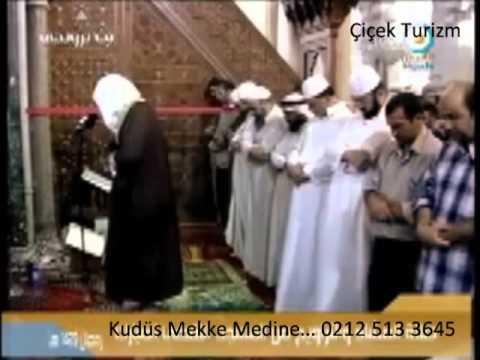 Mescid-i Aksada Namaz