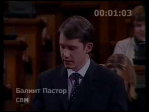 Parlamenti felszólalás - A Büntető törvénykönyv módosításáról szóló törvényről (az ún. kis értékű lopásokról)-cover