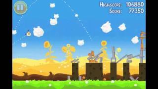 Angry Birds Seasons Summer Pignic Level 7 Walkthrough 3 Star Alternate Strategy