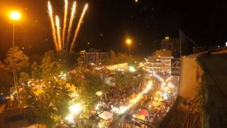 New Years Eve 2016 - Timelapse - Chiang Mai