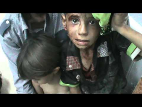 One day in Syria: The shelling of Azaz