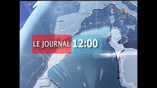 Journal d'information du 12H: 08-01-2020 Canal Algérie